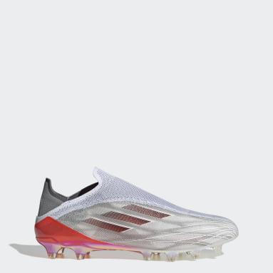 Soccer White X Speedflow+ Artificial Grass Cleats