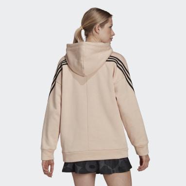 Sweat-shirt à capuche adidas Sportswear Marimekko Fleece Rose Femmes Sportswear