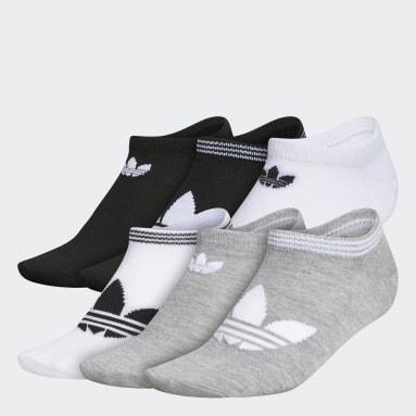 Women's Originals Multicolor Trefoil Superlite No-Show Socks 6 Pairs