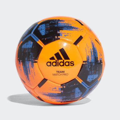Football Orange Team Match Winter Ball
