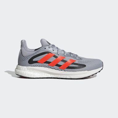 Running Grey SolarGlide 4 Shoes