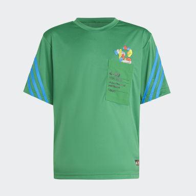 Børn Fitness Og Træning Grøn adidas x Classic LEGO® T-shirt