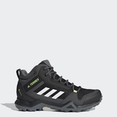 Heren TERREX zwart Terrex AX3 Mid GORE-TEX Hiking Schoenen