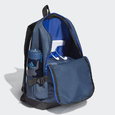 Lifestyle Blue Essentials 3-Stripes Response Backpack