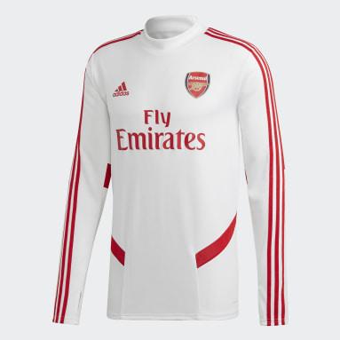 Sudadera entrenamiento Arsenal Blanco Hombre Fútbol