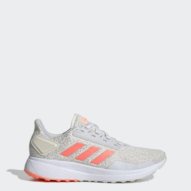 Women's Running White Duramo 9 Shoes