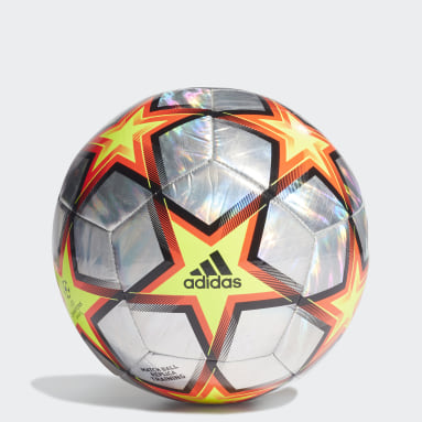Soccer Multicolor UCL Training Hologram Foil Pyrostorm Ball