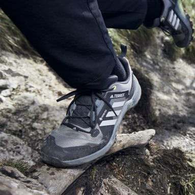 Zapatillas de Senderismo Terrex Swift R3 GORE-TEX Plomo Mujer TERREX