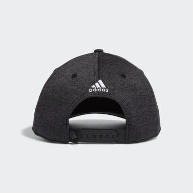 Men Golf Black Par Birdie Snapback Cap
