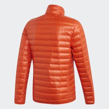 Mænd Overtøj Med Gadestil Orange Varilite dunjakke