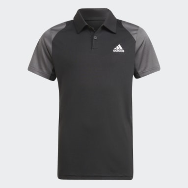 Club Tennis Poloskjorte Svart