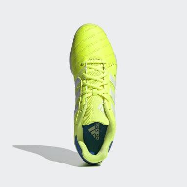 Botas de Futebol Top Sala Amarelo Futsal