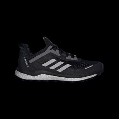 Women's TERREX Black Terrex Agravic Flow Trail Running Shoes