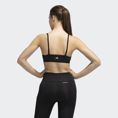 Women Training Black All Me 3-Stripes Bra