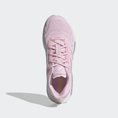 Women Running Pink Galaxar Run Shoes