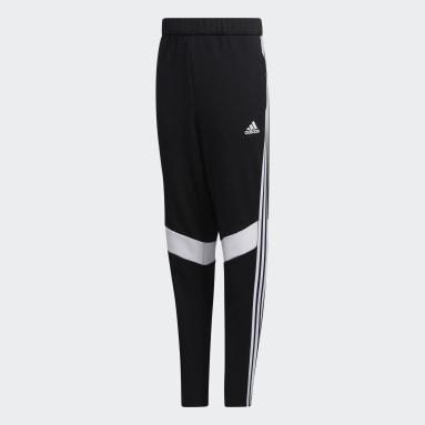 Boys Lifestyle Black FIat Knit Pants