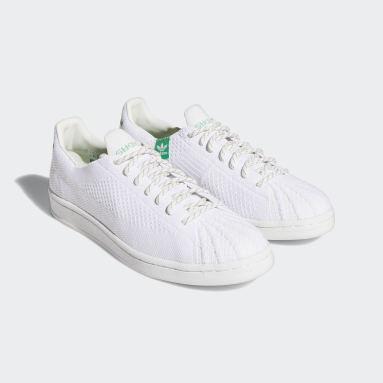 Originals White Pharrell Williams Primeknit Superstar Shoes