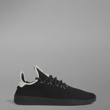 Men Originals Black Tennis Hu Shoes