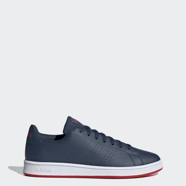 Men Sport Inspired Blue Advantage Base Shoes