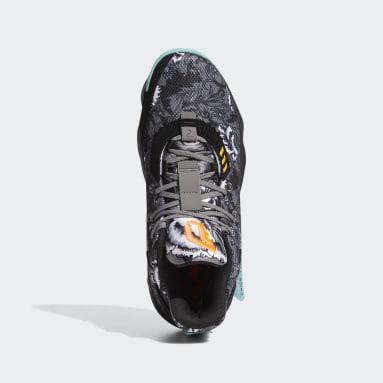 Zapatillas Dame 7 Floral Negro Basketball