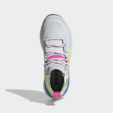 Women TERREX Blue Terrex Free Hiker Primeblue Hiking Shoes