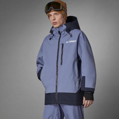 Men Winter Sports Purple Terrex MYSHELTER Snow 2-Layer Insulated Jacket