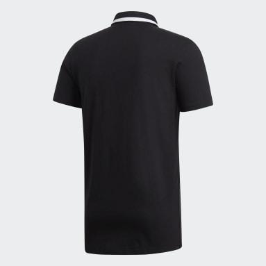 Mænd Rugby Sort All Blacks Supporters trøje