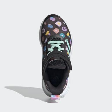 Børn Løb Sort adidas FortaRun x LEGO® Dots sko