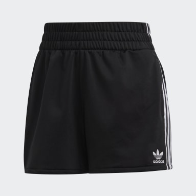 Women's Originals Black 3-Stripes Shorts