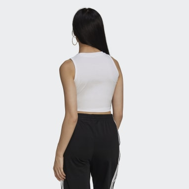 Débardeur Adicolor Classics Cropped Blanc Femmes Originals