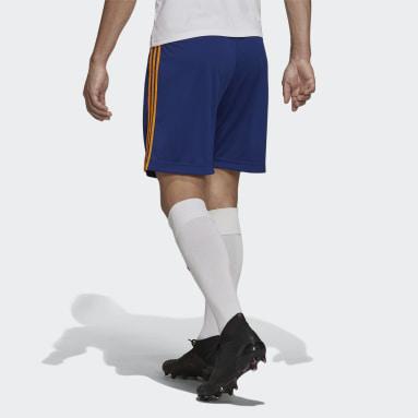 Football Blue Real Madrid 21/22 Away Shorts