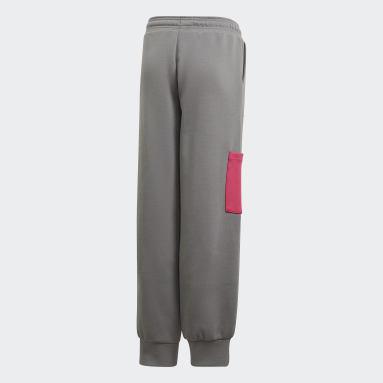 Pantalón adidas x Classic LEGO® Puño Ajustado Plomo Niña Training