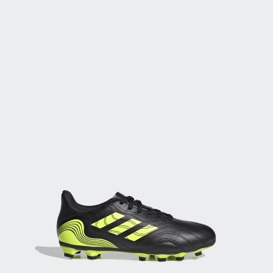 Kids Football Black Copa Sense.4 Flexible Ground Boots
