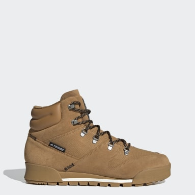 TERREX Brown Terrex Snowpitch COLD.RDY Hiking Shoes