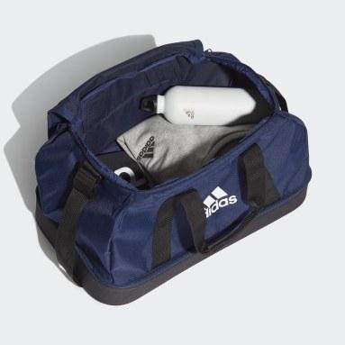 Football Blue Tiro Primegreen Bottom Compartment Duffel Bag Small