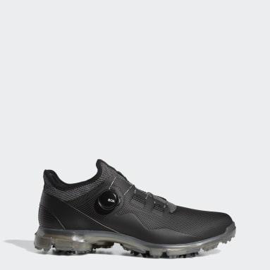 Men Golf Black Alphaflex 21 BOA Golf Shoes