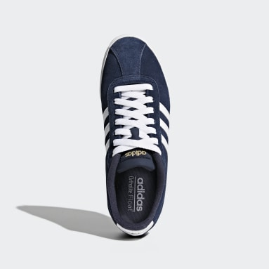 Women Sport Inspired Blue Courtset Shoes