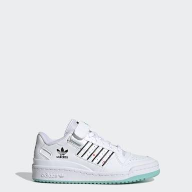 Mädchen Originals adidas x Kevin Lyons Forum Low Schuh Weiß