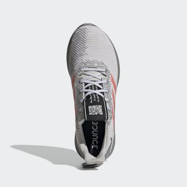 Men Running White Sensebounce+ Street Shoes