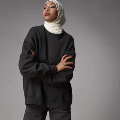 Women Originals Black Adicolor Oversized Sweatshirt