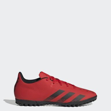 Men Football Red Predator Freak.4 Turf Boots