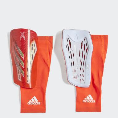 красный Футбольные щитки X Pro