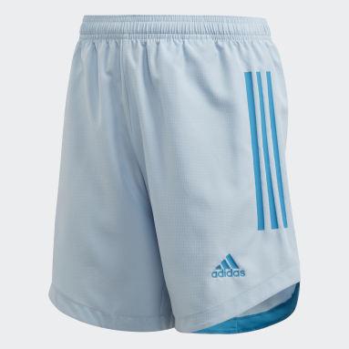 Pantalón corto Condivo 20 Primeblue Azul Niño Gimnasio Y Entrenamiento