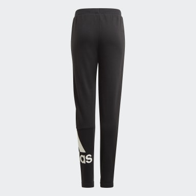 Girls Lifestyle Black adidas Essentials French Terry Pants