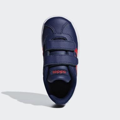 Tenis VL adidas Court 2.0 Azul Niño Lifestyle