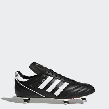 Fodbold Sort Kaiser 5 Cup støvler