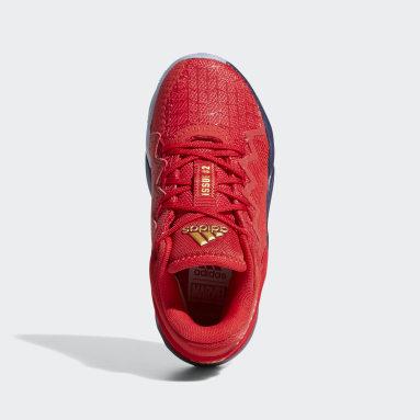 Kinderen Basketbal rood D.O.N. Issue #2 Schoenen
