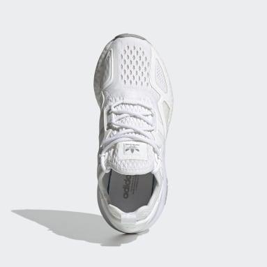 Barn Originals Vit ZX 2K Boost Shoes