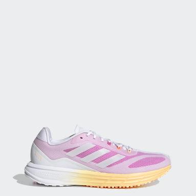 Women Running White SL20 Shoes
