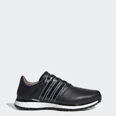 Men's Golf Black TOUR360 XT-SL 2.0 Spikeless Golf Shoes